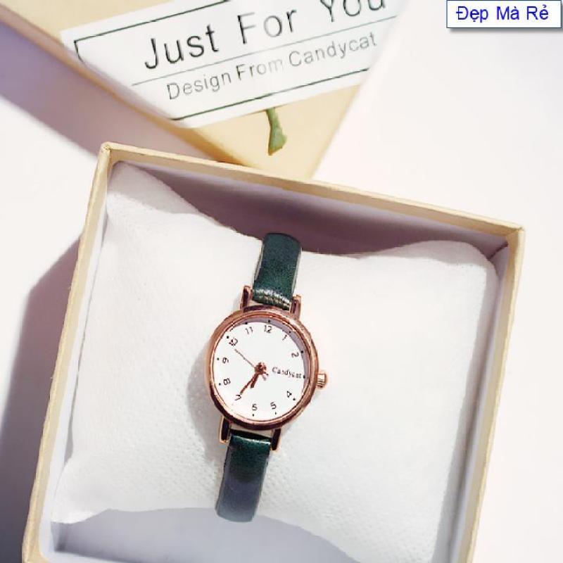 Nơi bán Đồng hồ Nữ Đẹp Mà Rẻ mặt số cổ điển xinh xắn - DH2019500045050069