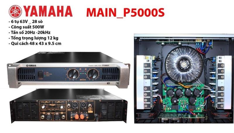 Main Đẩy Công Suất Yamaha P5000S