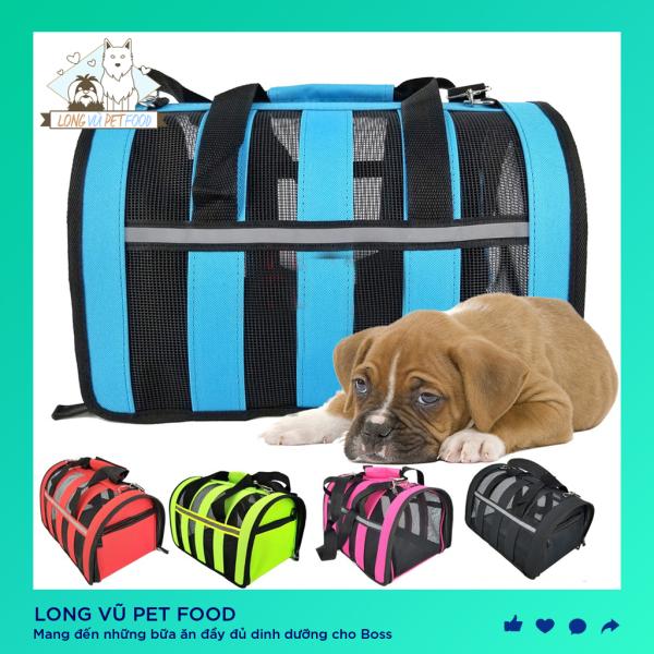 Túi vận chuyển dạng lưới chó mèo, thú cưng