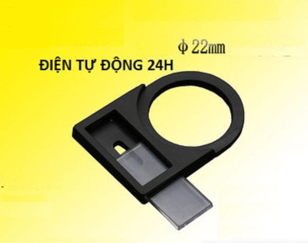 Name tag tủ điện - Tem Tủ điện 22mm (10 cái/gói) - Tem nhãn mica tủ điện - Miếng nhãn mica tủ điện 25mm (name plate) - phụ kiện tủ điện