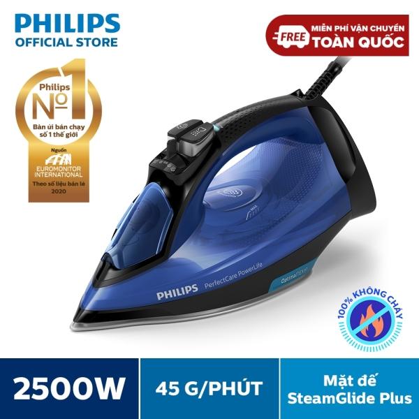 Bàn ủi hơi nước nằm Philips GC3920 2500W -Công nghệ OptimalTEMP, không cần điều chỉnh nhiệt độ - Hàng phân phối chính hãng - Bảo hành 2 năm