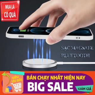 [HÀNG HOT HÔM NAY - SẠC MAGSAFE Bluetooth] cho điện thoại iphone 12 và các dòng điện thoại có bluetooth khác sạc siêu nhanh bảo hành 12 tháng thumbnail