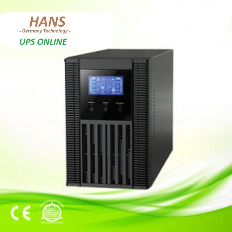 Bảng giá Bộ lưu điện online Hans 1kva - 800w. Sóng sin. Đã bao gồm ắc quy. BH 24 tháng Phong Vũ