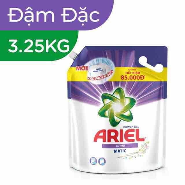Nước Giặt Ariel Nước Giặt Túi 3,25kg Giữ Màu
