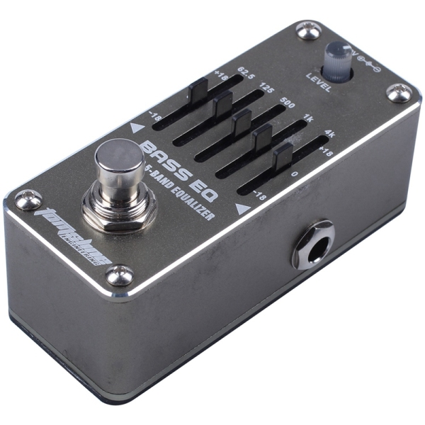 AROMA AEB-3 Bass Analog 5-Band EQ Equalizer Mini Single Electric Guitarra Guitar Effect Pedal