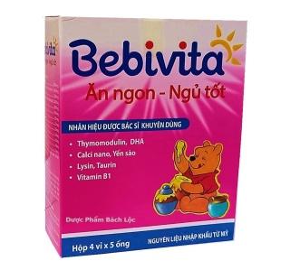 Yến Sào Bebivita - Bé Ăn Ngon, Ngủ Tốt - Nhãn Hiệu Được Bác Sỹ Khuyên Dùng- HSD 2022 thumbnail