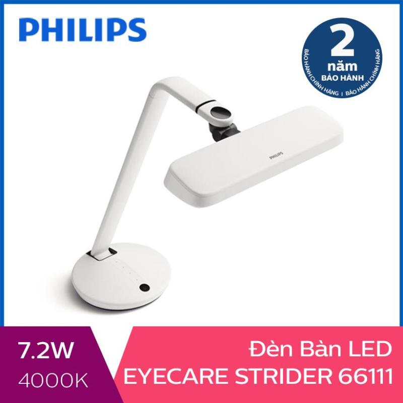 Đèn bàn Philips LED EyeCare Strider 66111 7.2W