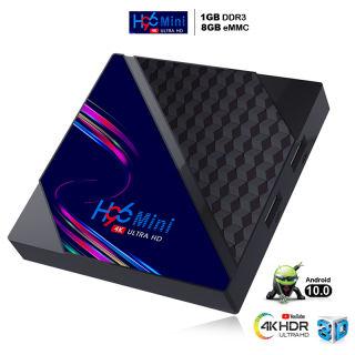 Tivi box Ram 1G Rom 8G xem phim 4K tiếng việt box tivi android hỗ trợ chức năng tìm kiếm giọng nói thoải mái xem phim cùng người thân bảo hành 12 tháng H96miniv8 tivi box giá rẻ