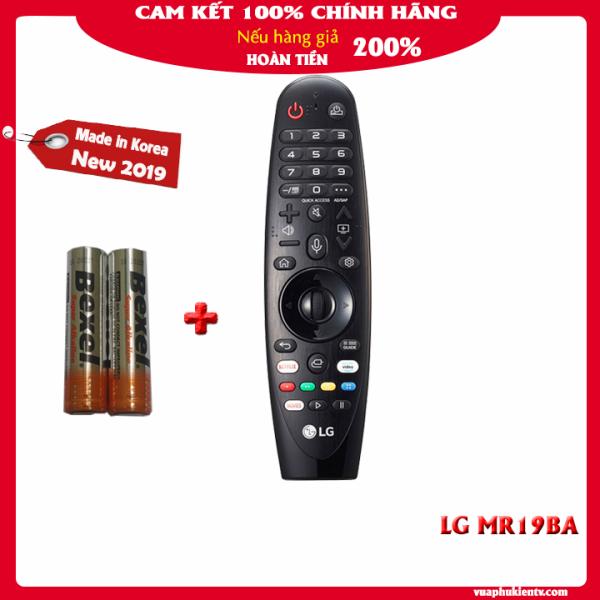 Bảng giá Điều khiển thông minh Tivi LG  magic remote AN-MR19BA  màu đen bảo CHÍNH HÃNG hỗ trợ tìm kiếm giọng nói tiếng Việt, con lăn, con trỏ, model mới 2019 dùng được cho tivi LG đời 2017, 2018, 2019 Điện máy Pico