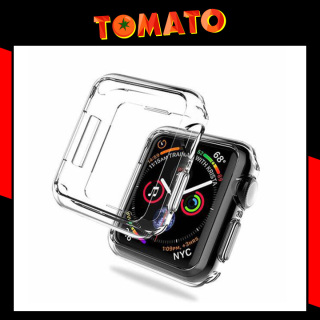 Ốp Lưng Dẻo Silicon Trong Suốt Bảo Vệ Apple Watch - Đủ kích cỡ từ 38mm 40mm 42mm 44mm thumbnail