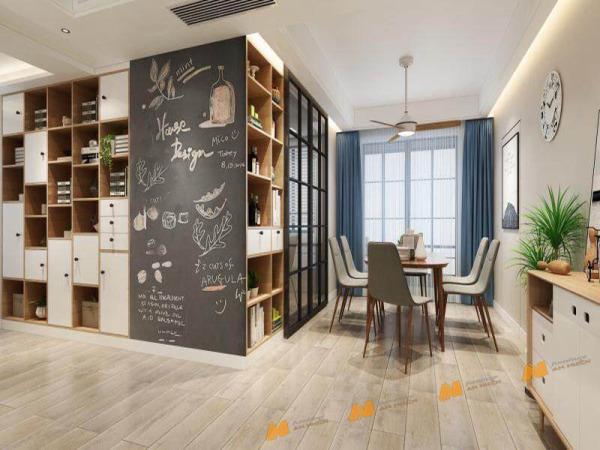Giá bán Tủ gỗ An Nhiên hiện đại góc cạnh sắc nét phù hợp căn hộ xứng đáng đồng tiền bỏ ra Gỗ MDF loại cao cấp độ dày 17mm chất lượng gỗ vượt trội Mẫu mới hiện đại A1150