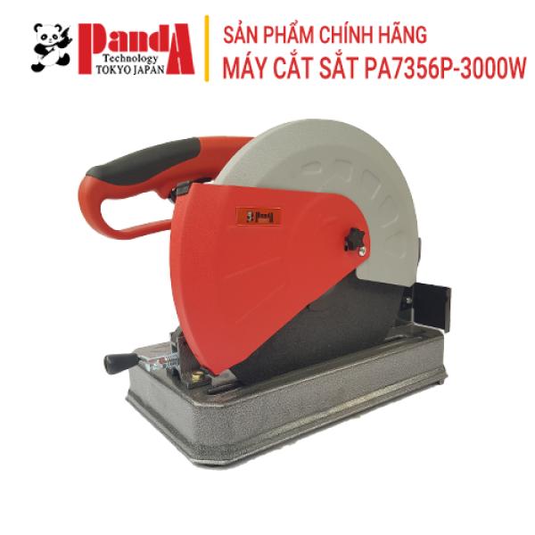 Máy cắt sắt PANDA PA7356P, Công suất 3000W, Bàn cắt dày, Cắt góc 45 độ, Tặng kèm lưỡi cắt