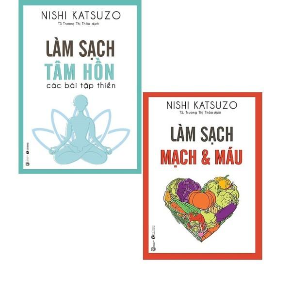 Mua Combo Sách Chăm Sóc Sức Khỏe Làm sạch Tâm Hồn + Làm sạch Mạch và máu ( Bộ 2 cuốn)