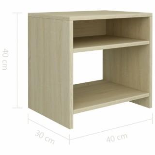 [GỖ TỰ NHIÊN] Tủ Đầu Giường SOVACO- ALB R40 x D30 x C40cm Phong Cách Tối Giản Có Kèm Giấy Hướng Dẫn Lắp Ráp thumbnail