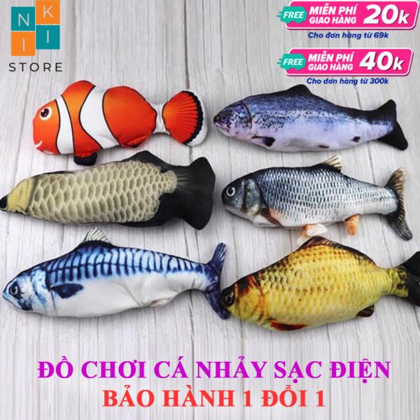 [Siêu Hot] Đồ Chơi Con Cá Nhảy Nhót Vui Nhộn - Đồ chơi cá nhảy- NiKi Store