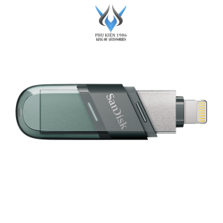 USB 3.1 OTG SanDisk iXpand Flash Drive Flip 32GB 64GB 128GB 256GB (Bạc) - Phụ Kiện 1986 thumbnail