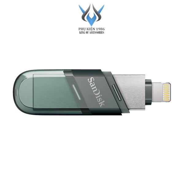 Bảng giá USB 3.1 OTG SanDisk iXpand Flash Drive Flip 32GB / 64GB / 128GB / 256GB (Bạc) - Phụ Kiện 1986 Phong Vũ
