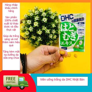 [Hàng Nhập Khẩu Chính Hãng] Viên uống trắng da DHC Nhật Bản, sản phẩm chiết xuất hoàn toàn từ thảo dược thiên nhiên giúp trắng da mờ thâm nám hiệu quả,tặng kèm mặt nạ sữa ong chúa cao cấp thumbnail