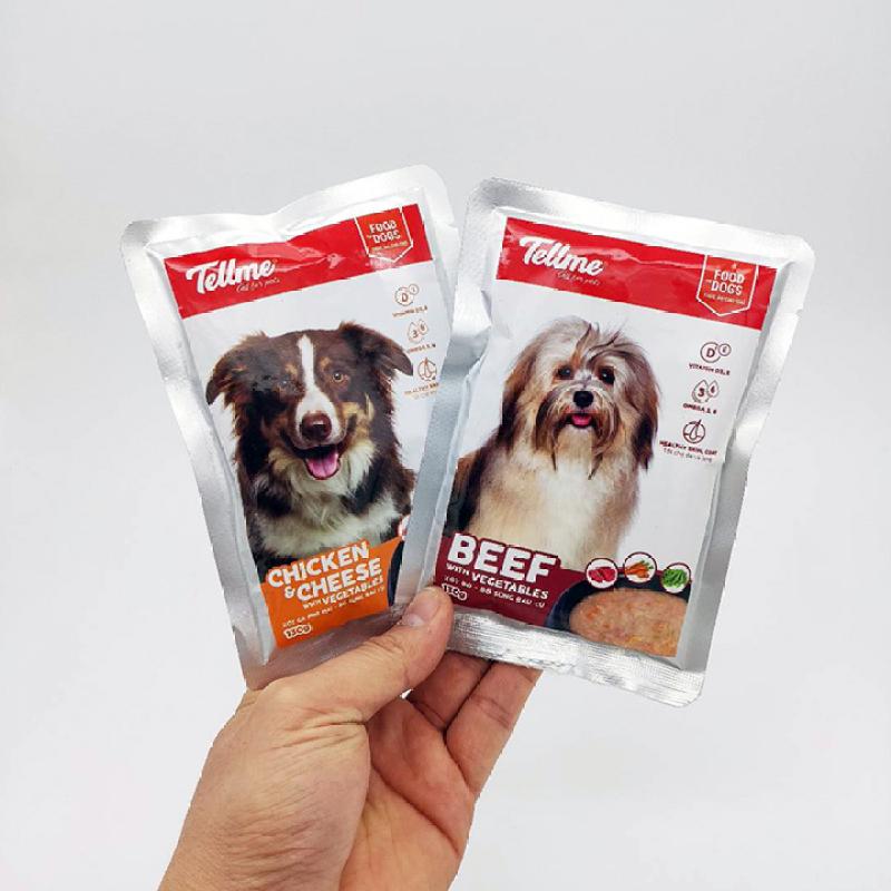 Thức ăn ướt Xốt Tellme 130g dành cho chó - CutePets