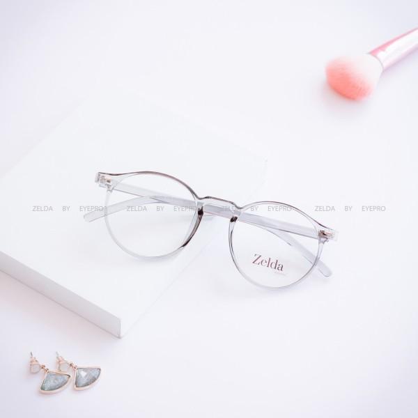 Giá bán [LẮP SẴN CẬN]Gọng kính cận nữ, gọng cận tròn nhựa dẻo Z30035