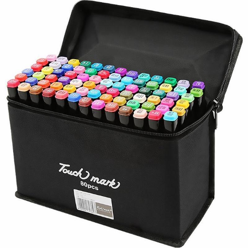 Mua Bộ bút màu Touch Mark 80 màu,món quà tuyệt vời cho giới Mỹ thuật (Ngọc Linh Shop.)