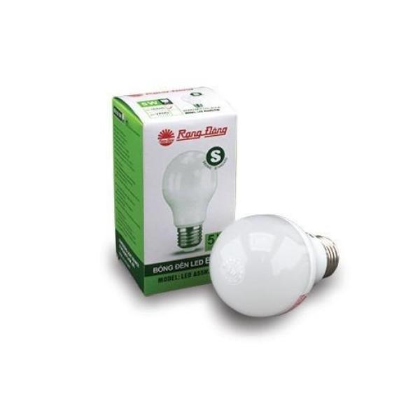 Bóng Đèn LED BULB A Tròn Chính Hãng Rạng Đông - LED A55N4/5w, Đuôi E27 - Ánh Sáng 3000K, 6500K S