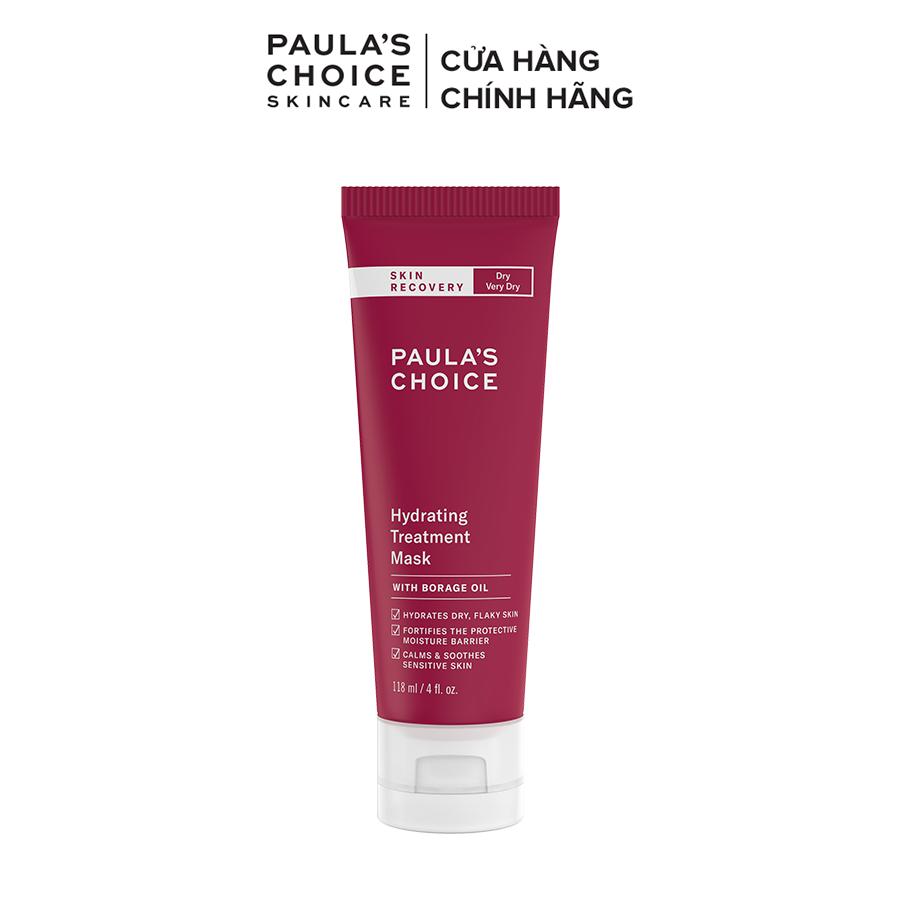 Mặt nạ dạng kem dưỡng ẩm sâu cho da khô và làm dịu kích ứng Paula's Choice Skin Recovery Hydrating Treatment Mask 118ml
