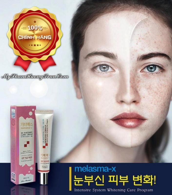 Kem Đặc Trị Thâm Nám Và Tàn Nhang Melasma-X 3D Whitening Clinic Cream