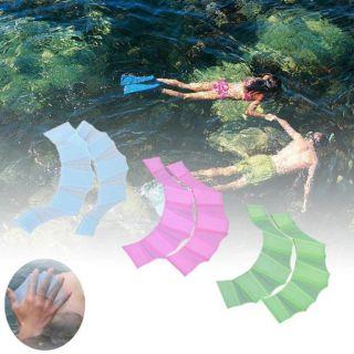 SAUSAGE 1 cặp Unisex Chèo thuyền Thể thao dưới nước Ngón tay có màng Chân chèo Vây tay bơi Găng tay thumbnail