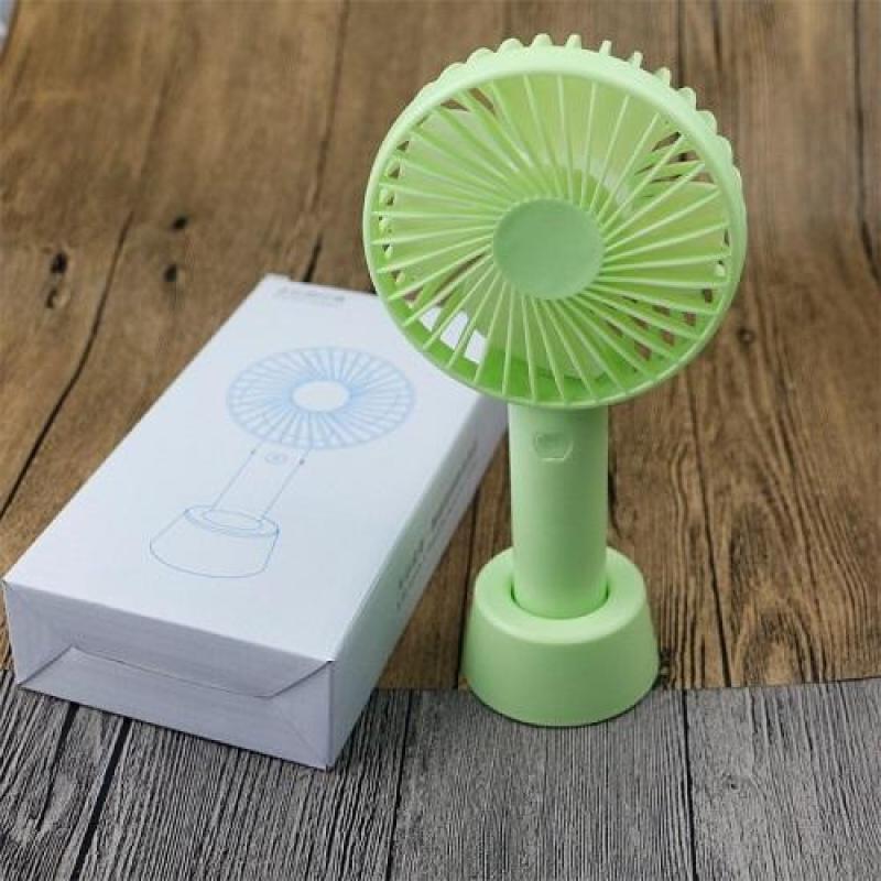Quạt Mini Fan Có Pin Sạc Cầm Tay Tuỳ Chỉnh 3 Cấp Độ Siêu Mát Hàn Quốc(Nhiều Màu)