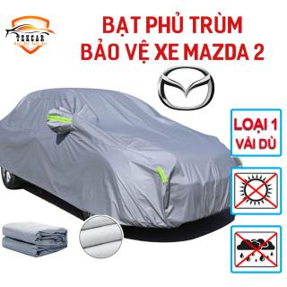 [MAZDA 2] Bạt vải dù oxford bảo vệ xe ô tô Mazda2 phủ trùm kín cao cấp , áo trùm xe 5 chỗ thông minh chống nắng, chống nóng, chống xước, chống mưa ngoài trời, bề mặt ngoài mịn bóng , bac phu oto, xe hơi thumbnail