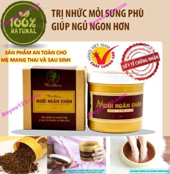 Muối ngâm chân thảo dược - Wonmom -giảm đau nhức, phù chân 350g - An toàn cho Mẹ mang thai và sau sinh  (Việt Nam)