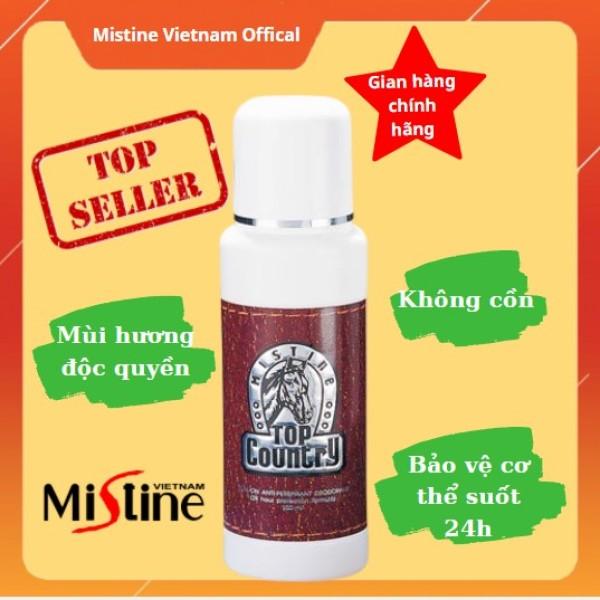 Lăn Khử Mùi Nam Hương Nước Hoa Con Ngựa TOP COUNTRY MISTINE Sản Xuất Tại Thái Lan TiVa Mart nhập khẩu