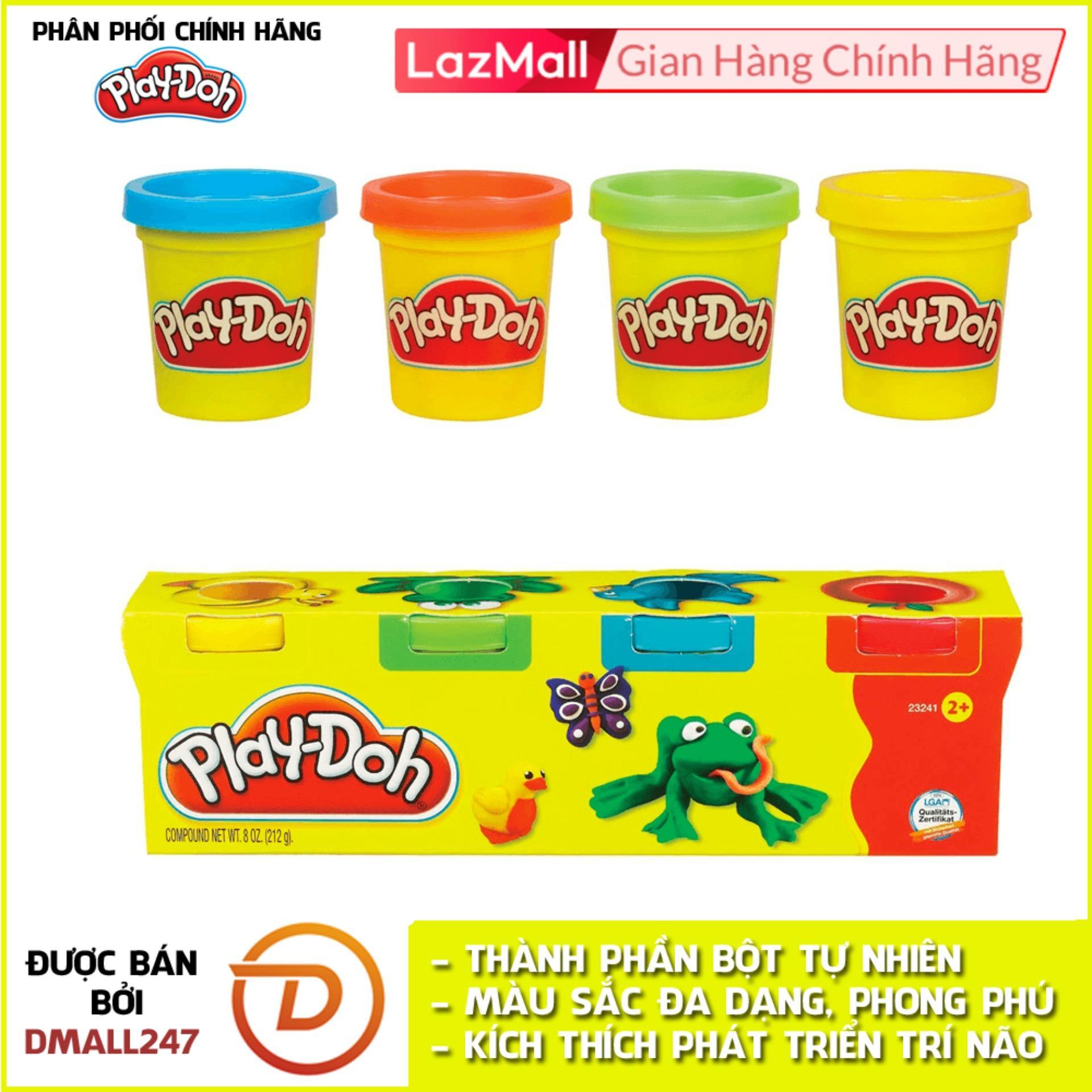 Bộ Bột Nặn Tạo Hình 4 Màu Mini Play-Doh 23241 Giá Rất Tiết Kiệm