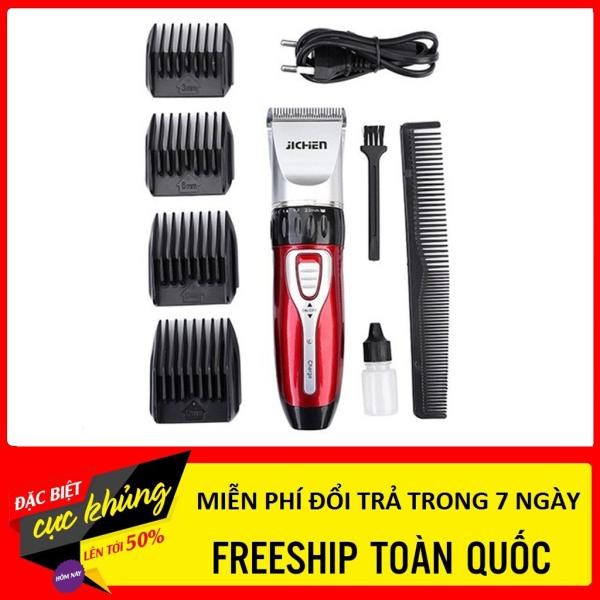 [Nhập LZDEL51 giảm 10% tối đa 200k cho đơn 99k] Tông đơ cắt tóc Jichen JC-0817 - tông đơ cắt tóc gia đình chất liệu cao cấp cho thời gian sử dụng lâu dài