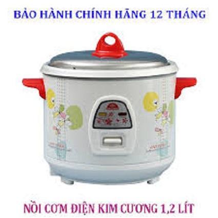 Nồi cơm điện Kim Cương 1,2 lít
