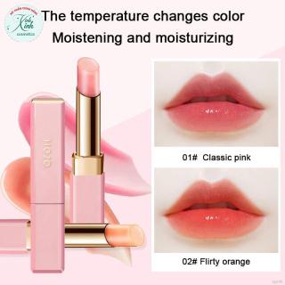 [CHÍNH HÃNG] Son Dưỡng Có Màu HOJO Cherry Blossom Dưỡng Môi Mềm Mịn Son dưỡng môi có màu HOJO đổi màu theo nhiệt độ thumbnail