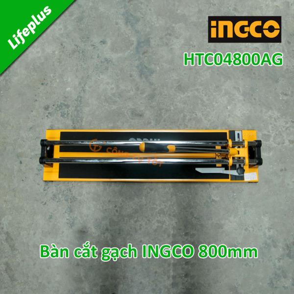 Bàn cắt gạch men đẩy tay Total THT578004,  Ingco HTC04800AG - 800mm x 14mm