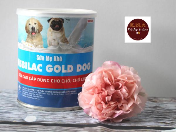 Sữa cao cấp cho chó - MSBilac Gold Dog Lon330gr
