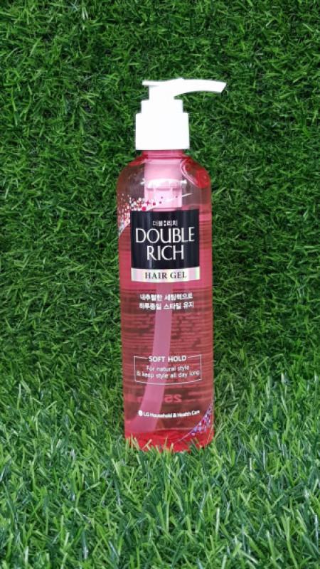 Gel tạo kiểu và giữ nếp Double Rich 250ml cho tóc thẳng giá rẻ