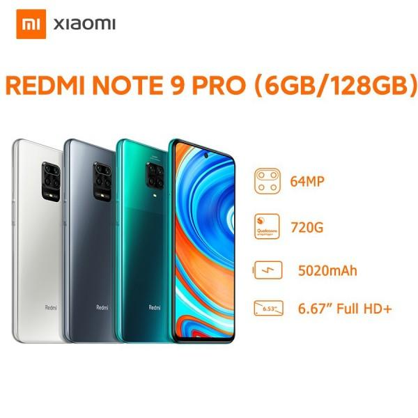 Điện Thoại Xiaomi Redmi Note 9 Pro 6GB/128GB - Hàng Chính Hãng