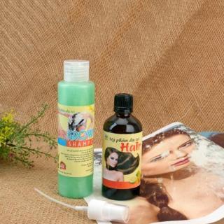 [HCM][Deal sốc] Combo tinh dầu bưởi và dầu gội bưởi kích thích mọc tóc trị rụng tóc thumbnail