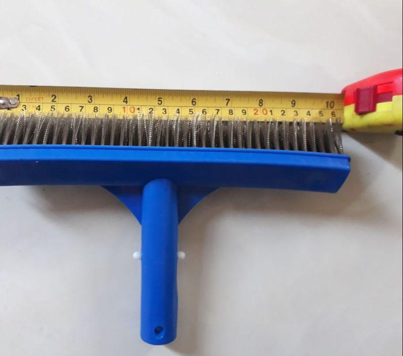 Bàn Chà Rong Rêu Hồ Bơi Bằng Thép dài 25cm,dụng cụ vệ sinh bể bơi, chổi vệ sinh SPA