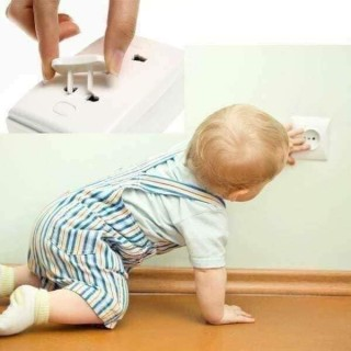Bộ 10 nút bịt ổ cắm điện bảo vệ an toàn cho bé thumbnail