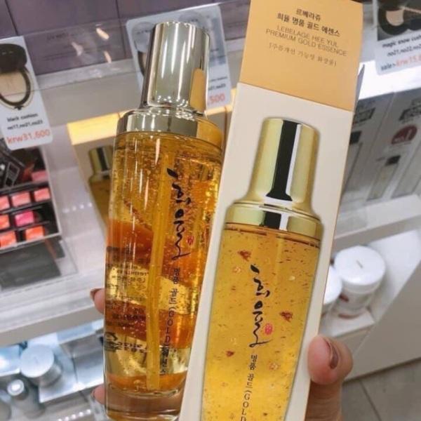 Tinh Chất Vàng Lebelage 24k Hàn Quốc Căng Bóng Trắng Mịn da,