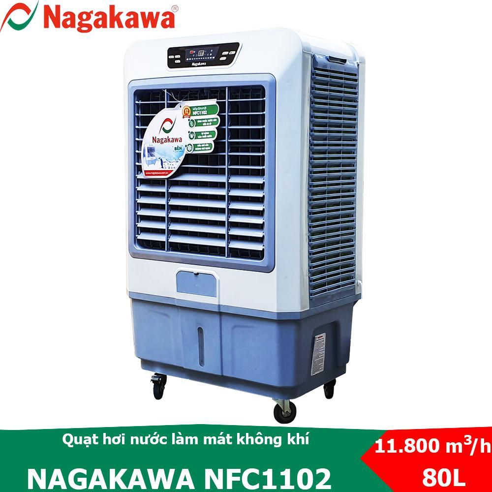 Mã Coupon Quạt Hơi Nước Làm Mát Không Khí Nagakawa NFC1102 điều Khiển Từ Xa Bằng Remote