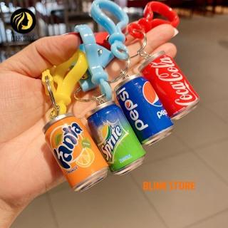 Móc khóa hình lon nước độc đáo, dễ thương dùng cho khóa xe máy, ô tô, treo balo, túi xách chất liệu nhựa ABS bền đẹp. Thanh toán khi nhận hàng thumbnail