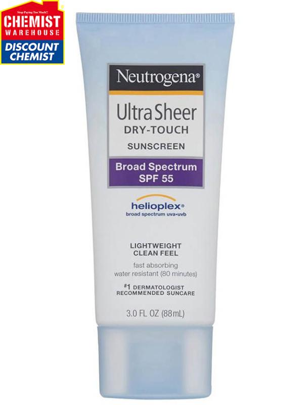 Kem chống nắng neutrogena Ultra Sheer SPF55 88 ml nhập khẩu