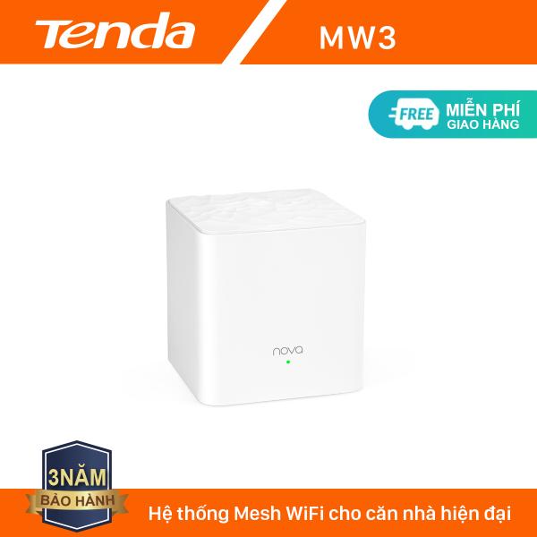 Tenda Hệ thống Wifi Nova Mesh cho gia đình MW3 Chuẩn AC 1200Mbps - Hãng phân phối chính thức