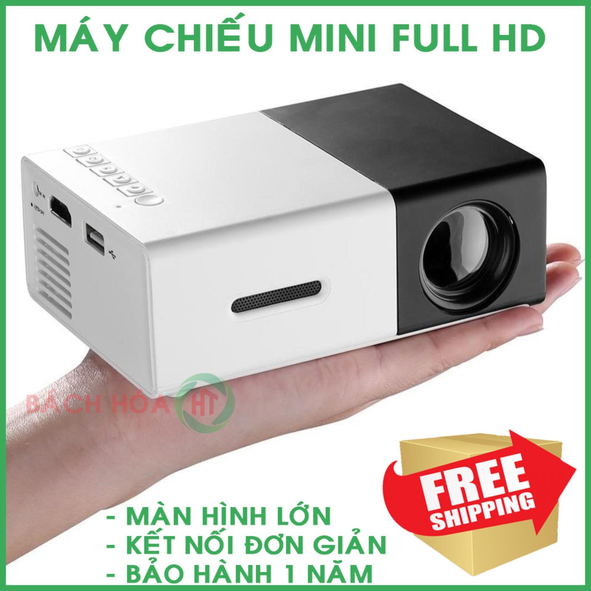May chieu gia re tai tphcm , Giá máy chiếu, Máy chiếu màn hình LCD TFT HD1080 hàng cao cấp - chất lượng full HD - cho hình ảnh chân thực và rõ nét - BH 1 đổi 1 trong vòng 12 tháng